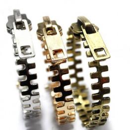 Fashion Punk Style Zipper Shape Bracelet