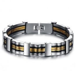 Chic Colored Link Bracelet For Men